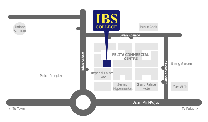 IBS College location map